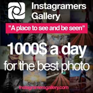 Instagramers Gallery awards the best pictures uploaded on Instagram