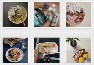Some of the dishes by Gan on her Instagram account