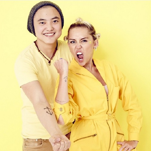 Miley and Leo