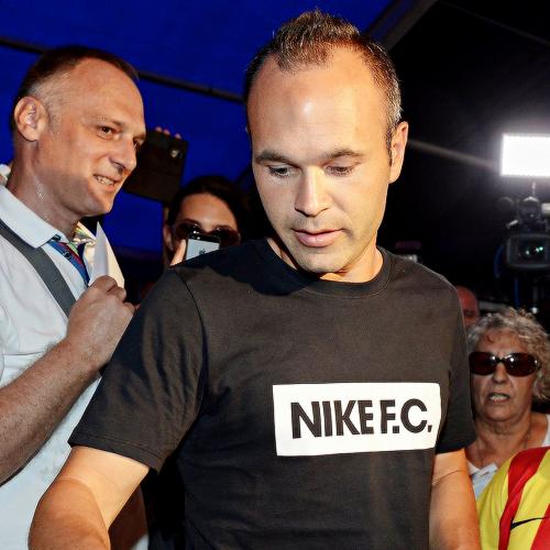 Iniesta, the player – not the designer
