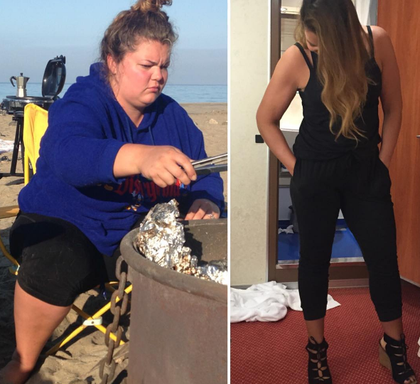 Weight Loss Story Through Instagram