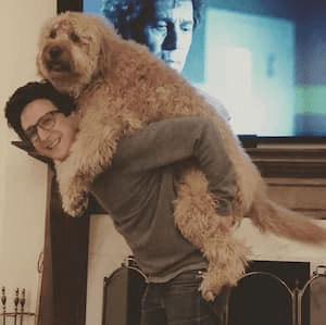 Paul Rust's Judy is an Instagram-loved Dog!