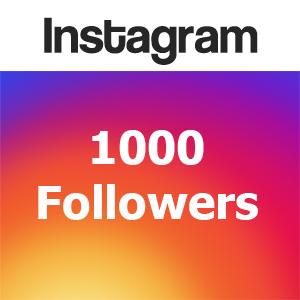 Buy 1000 followers