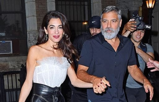 Amal and George Clooney 5 years together