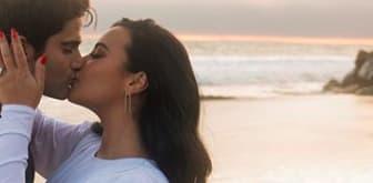 Demi Lovato's and Max Ehrich