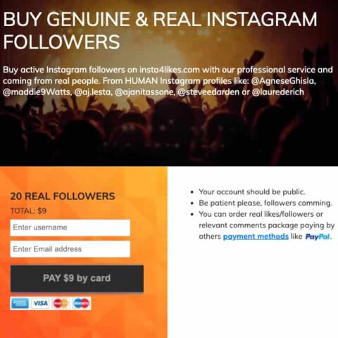 Paying for Instagram followers can give you the push you need.