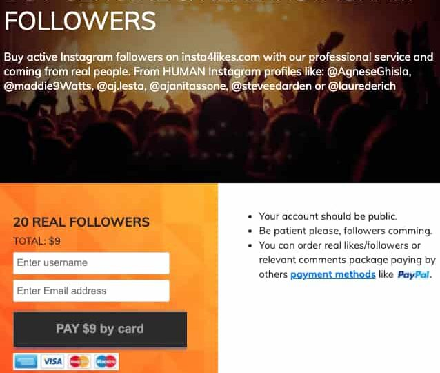 Paying for Instagram followers can give you the push you need